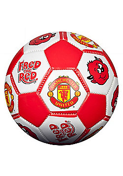 Manchester United FC Size 1 Football - Red