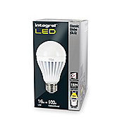 Pack Of Five Integral E27 16W Warm White Globes