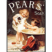 Pear's Soap Pear's Puppy Tin Sign