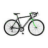 53cm Viking Scirocco 14 Speed 700c Wheel Alloy Gents, Black/Green