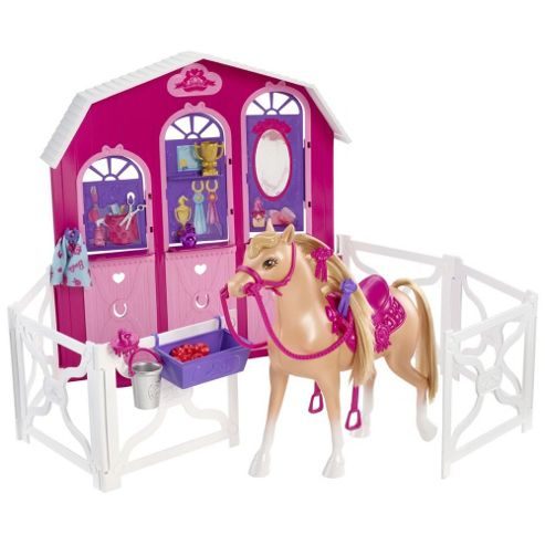Barbie A Pony Tale Sisters Deluxe Stable
