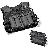 Tunturi Classic Weighted Vest 15kg - Adjustable
