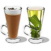 Rink Drink Columbia Latte Glasses - 280ml (9.85oz) - Gift Box of 2