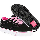 Heelys Launch 2.0 Black Nubuck/Pink Heely Shoe - Black