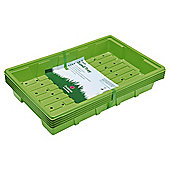 Dobbies Essentials Seed Tray, Green