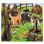 Melissa & Doug Pet Animals Cardboard Kids Puzzle (48 Pieces)