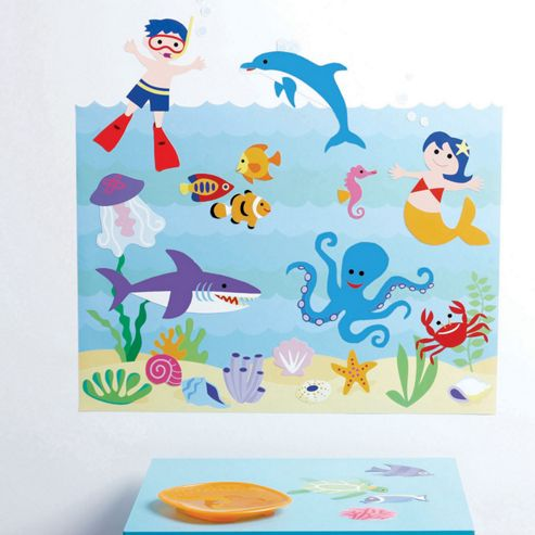 Kids Aquarium Wall Stickers