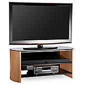 Alpheson FW1100-LOB Light Oak 3 Tier Stand for up to 50 inch TV