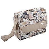 Bebecar Urban Denim Changing Bag (Brown Patchwork)