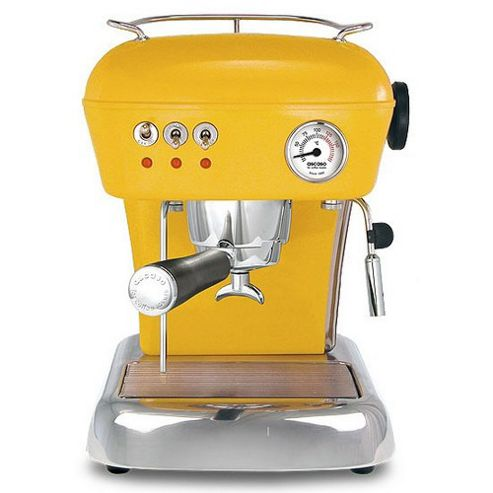 Ascaso Dream Versatile Espresso Coffee Machine in Sun Yellow