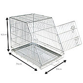 Bentley Pets Sloped Metal Cage