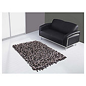 The Ultimate Rug Co. Rocky Rug Chocolate 120X170Cm