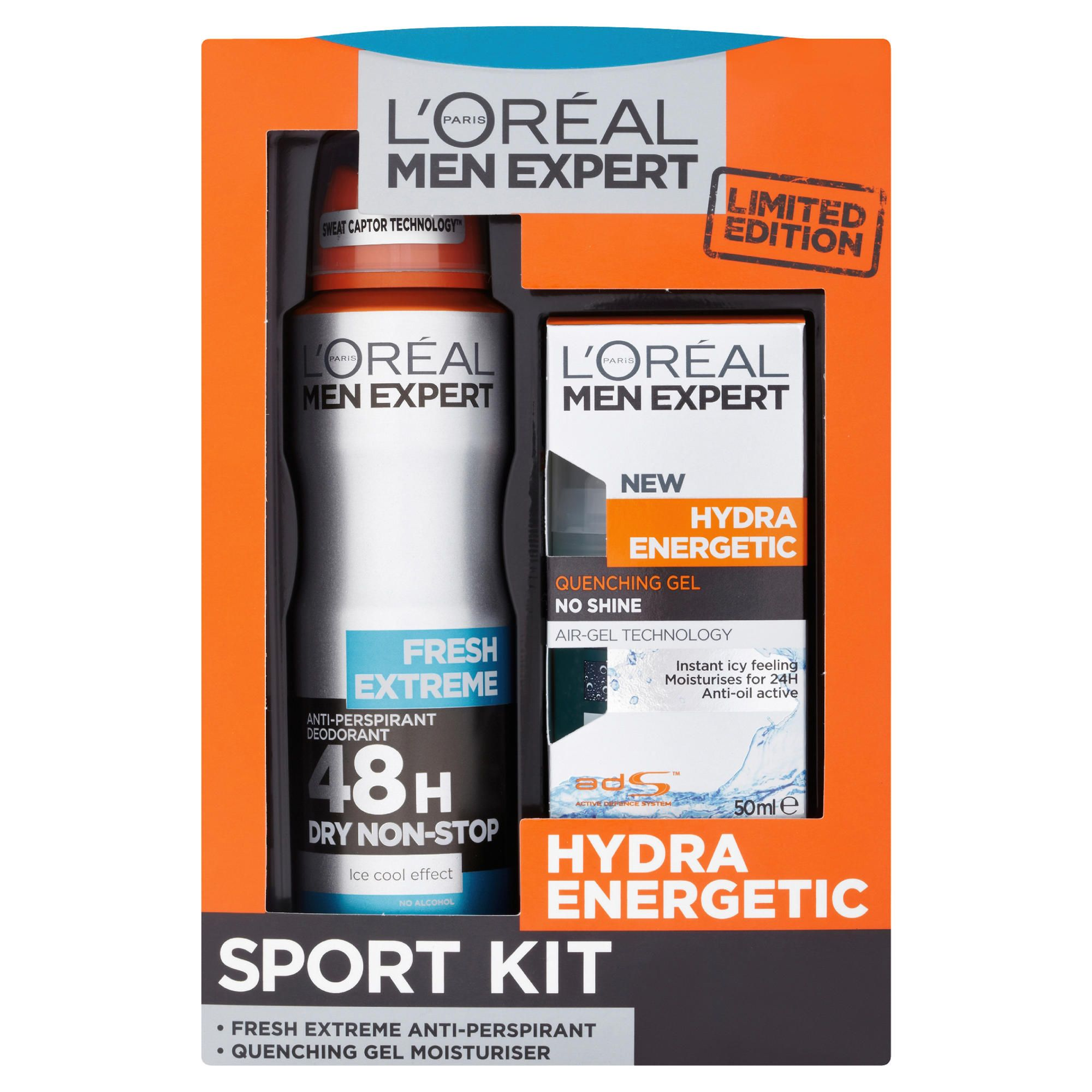health and beauty bodycare l 39 oreal men 150ml hydra. Black Bedroom Furniture Sets. Home Design Ideas