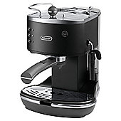 DeLonghi Vintage Icona Pump Espresso Coffee Machine – Matt Black
