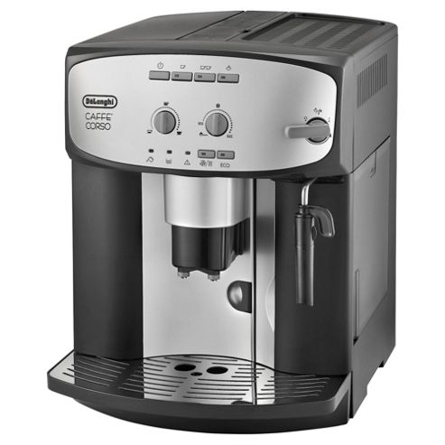 buy de 39 longhi cafe corsa esam2800 bean to cup coffee machine black silver from our bean to. Black Bedroom Furniture Sets. Home Design Ideas