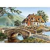 Bridge Cottage- 500pc Puzzle