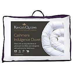 Kings & Queens Single Duvet 13.5 Tog - Cashmere Indulgence