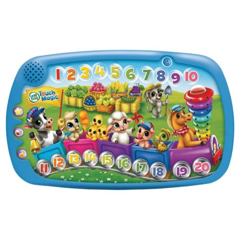 LeapFrog Touch Magic Animal Counting Train