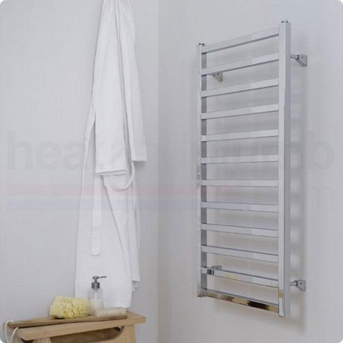 Ultraheat Karnak White Ladder Towel Rail 480mm High x 420mm Wide