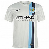 2013-14 Man City 3rd Nike Shirt (Kids) - White