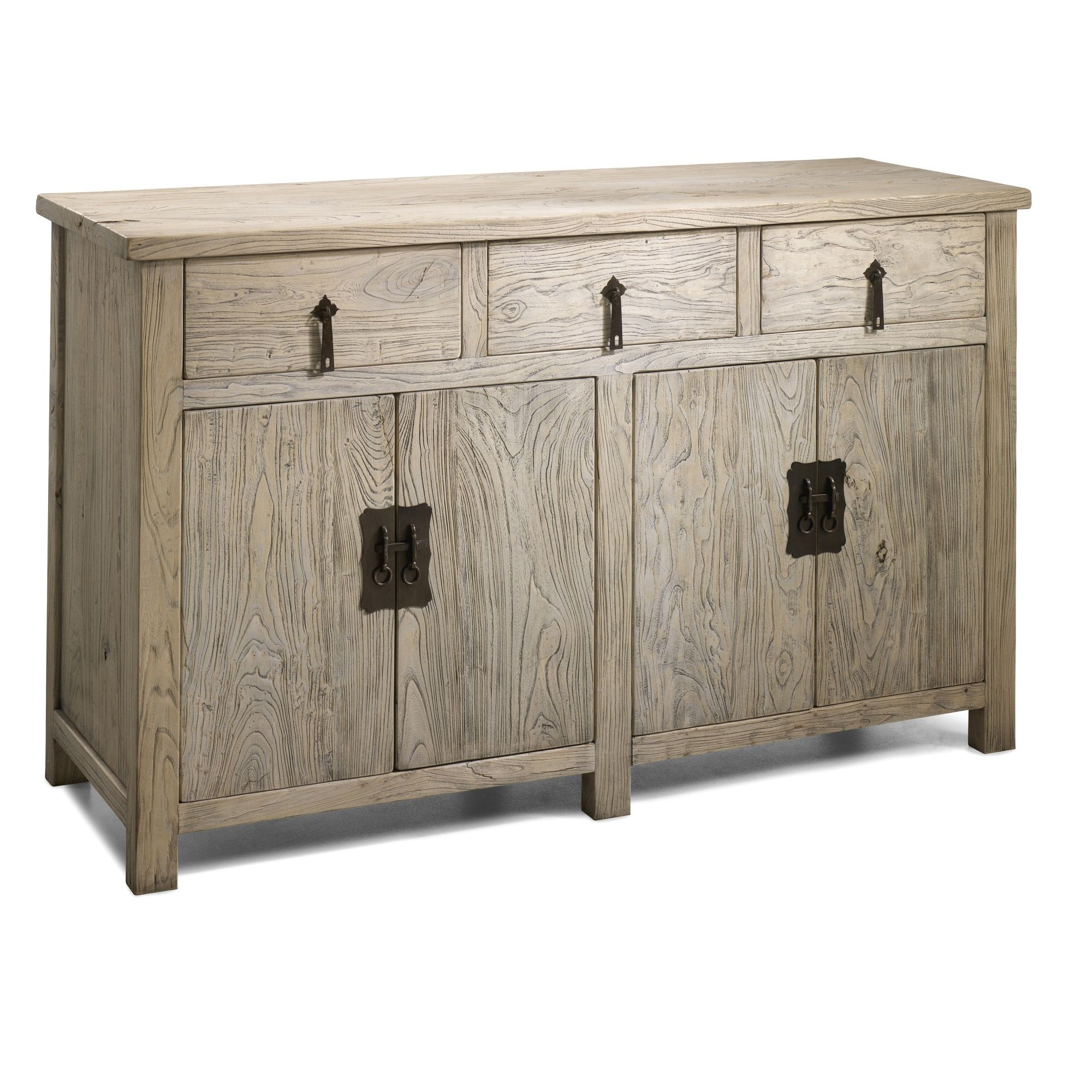 Shimu Chinese Country Furniture Four Door Sideboard at Tesco Direct