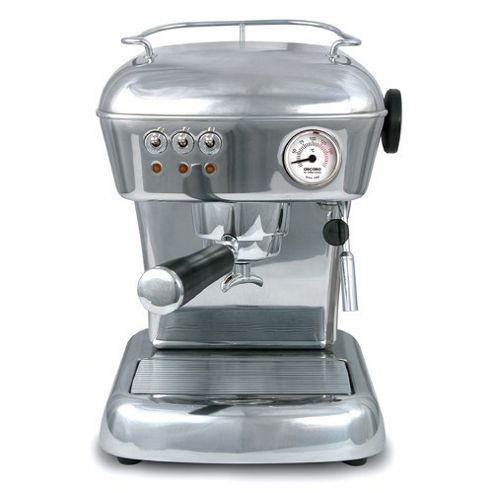 Ascaso Dream Versatile Espresso Coffee Machine in Polished Aluminium