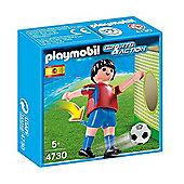 Playmobil Soccer Player - Spain 4730