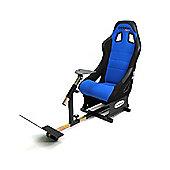 GameRacer Elite Racing Simulator Gaming Chair - Blue