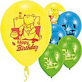 9' Disney Winnie The Pooh Happy Birthday (6pk)