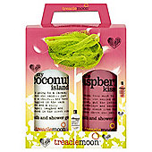 Treacle Moon Bath & Shower Gel Duo Gift with Puff