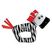Lamaze Contrast Zebra Rattle