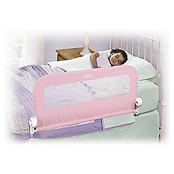 Summer Infant Single Bedrail, Pink