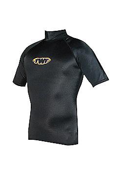 TWF UV Rash Vest Black LGE 40/42 chest