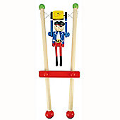 Bigjigs Toys BJ961 Pirate Trapeze (One Supplied - Colours Vary)
