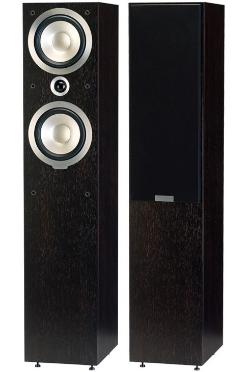TANNOY MERCURY V4 FLOOR STANDING SPEAKERS (PAIR) (DARK WALNUT)