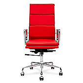 EA219 Eames Replica Office Chair Red