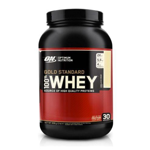 Optimum Nutrition 100% Whey Protein 908g - Vanilla