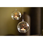 Bauble tea light holder