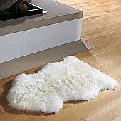 Auskin Natural Sheepskin Ivory Long Wool Premium Rug
