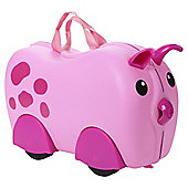 Kiddee Case Kid's Ride On Suitcase, Pig