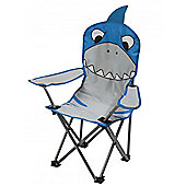Regatta Kids Camping Chair Shark Blue