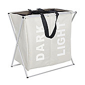 Wenko Duo Laundry Collector - Beige