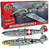 Airfix A02029A Messerschmitt Bf109G 1:72 Aircraft Model Kit