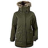 Didriksons Ladies Shelter Waterproof Parka - Green
