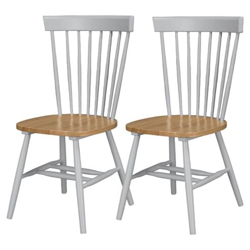 Dorset Pair of Dining Chairs 2 Tone