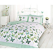 Rapport Art Flutter Single Quilt Set Green