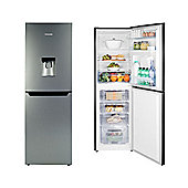 Hisense RB320D4WG1 Upright Freestanding Fridge Freezer With Water Dispenser - Grey