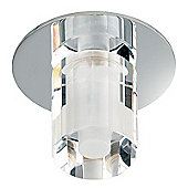 Endon Lighting Downlight in Chrome with Crystal