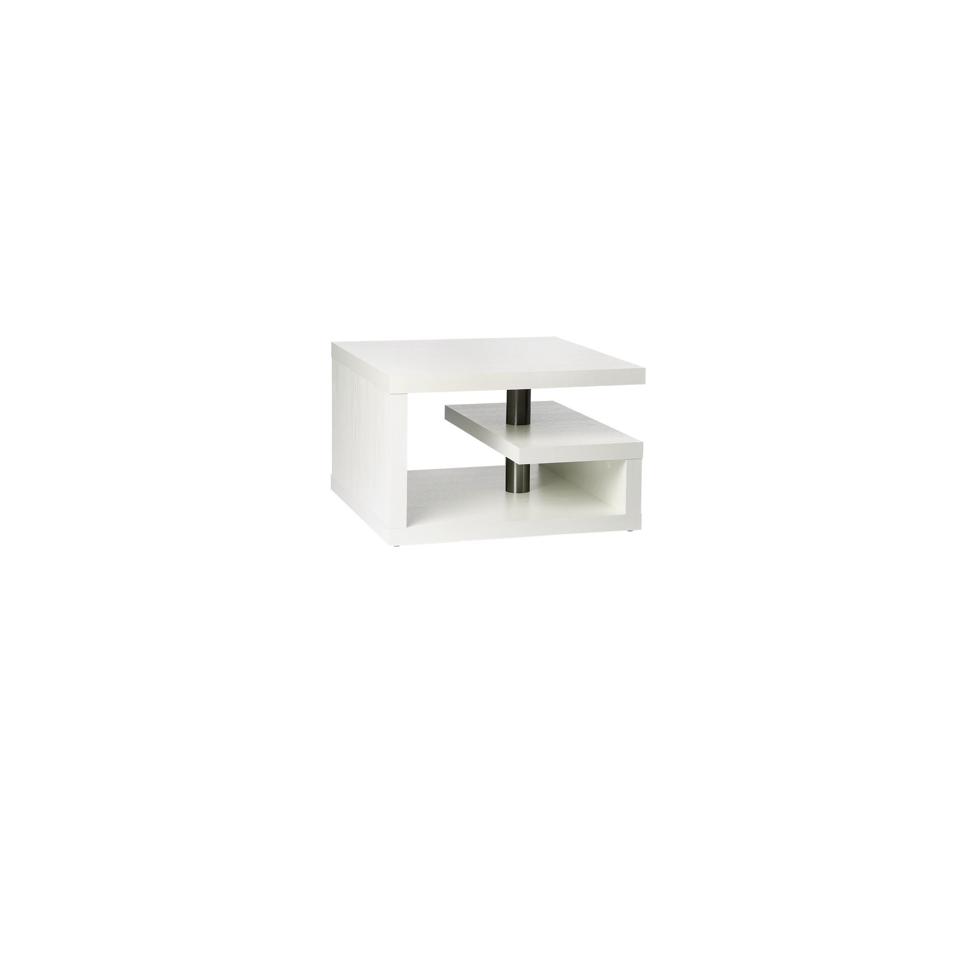 Altruna Lamp Table - White
