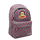 Paul Frank Grey/Pink Backpack